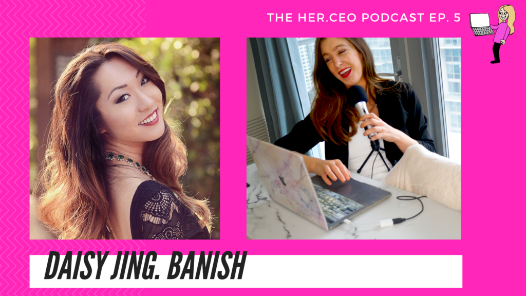 Banish acne scars founder Daisy Jing