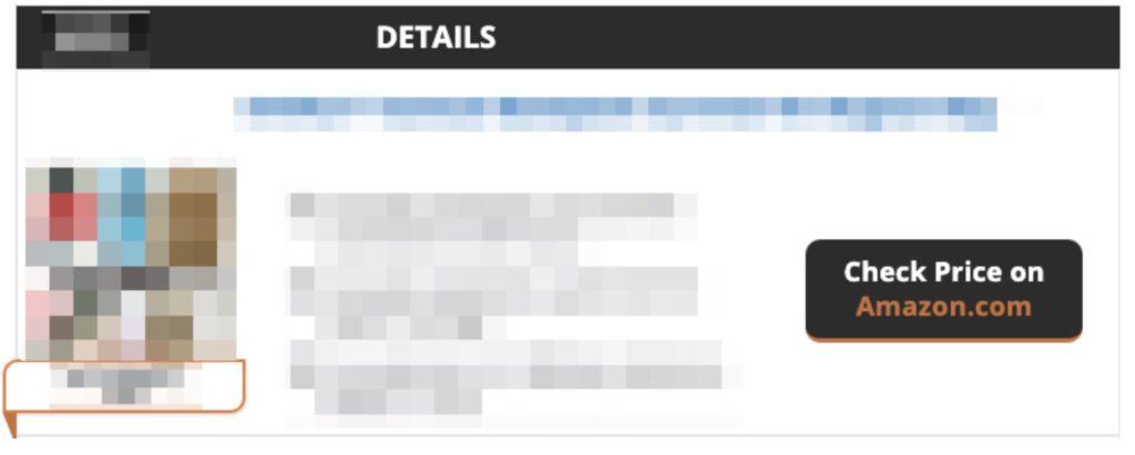 website comparison table